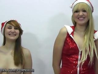 Puta Locura Amateur Teen Mother Xmas Gets A Bukkake