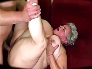 Fat Grammy Having Sex With A Young Stallion