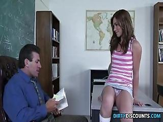 Spanked Teen Face Creamed