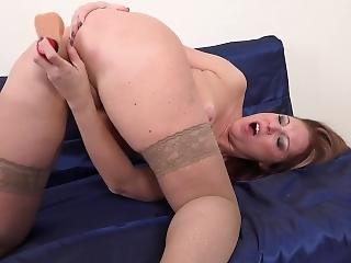Naughty Housewife Marta Playing With Herself