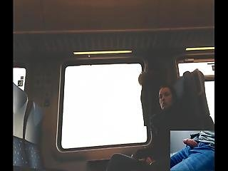 Pretty Girl Watching My Dick In Train