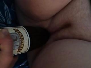 Fucking Girlfriend With Wine Bottle