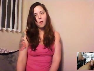 Mistress Riley Skype Foot Joi