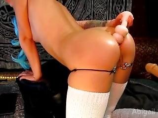 Anal Work Out With Abigail Dupree