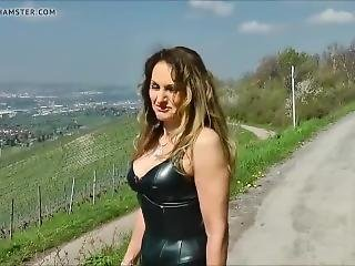 Fetish Lady In Leather