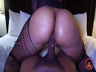 Big Butt Stripper Caught Fucking Local Rapper