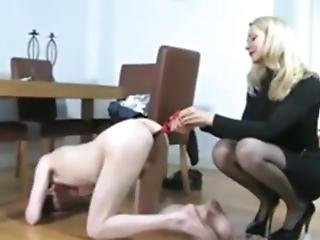 Hot Woman Giving Enema To A Young Boy And Then Tease Him In Public