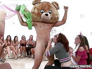 Male Stripper Fucks The Birthday Girl