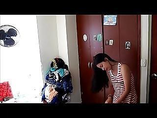 carica, telecamera nascosta, latina, tette piccole, Adolescente