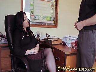 Kinky Domina Sucks Dick