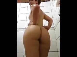 Cú, Grande Cú, Brasileira, Morena, Caralho, Masturbação, Mamas Pequenas, Provocar, Nova