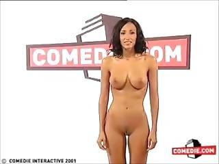 Diana Jones Striptease Nude