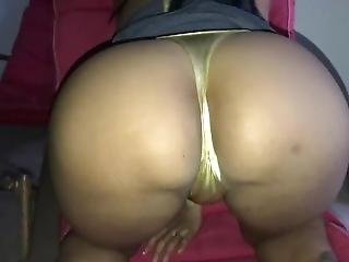 Cum On Shiny Panty Slut Ass Cheeks
