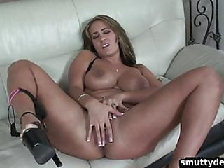 Big Tit Chick Loves Anal