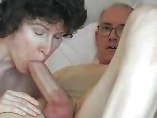 Grandpas Big Cock Attractive Mature Swallows It