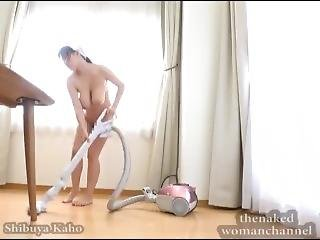 A Busty Nude Geisha Housekeeper