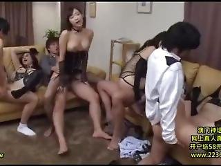 Having Sex With Whole Family Filled With Horny Women