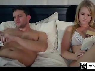 Stepfather Fucks Daughter Next To Her Mom In Bedroom - Pornjungle.co