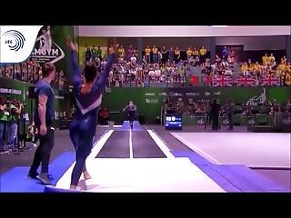 Spandex Gymnastics