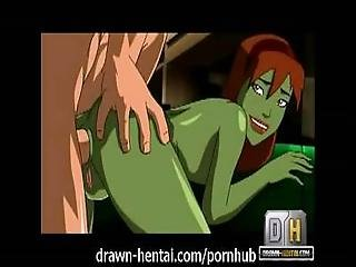 Young Justice Hentai   Superboy Fucks Martian Ass