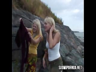 Public Blonde Girls