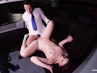 Fucked In Traffic - Czech Red Head Vanessa Shelby Gets Fucked In A Car