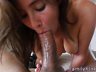 Lovely Roundass Stepsis Fucked In Doggystyle