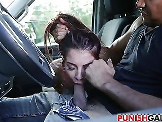 Helpless Teen Sally Squirt Gets Drilled