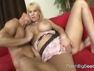 Big Hooters Meets Big Cock For Fun