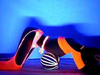 Neon Dream - Blacklight Dance Video Sample - Video On Modelhub