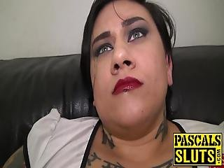 Ink And Curves Are What Lily Brutal Was All About Before Pascal White Taught Her The Ways Of Rough Big Dick Penetration!