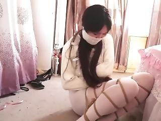 Bound Chinese Maid