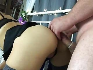 Getting Naughty In The Bedroom W/mini Skirt & Tights
