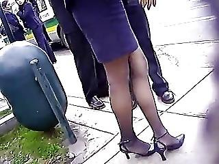 Pantyhose Skirt