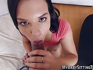 Pov Teen Jizzy Mouthed