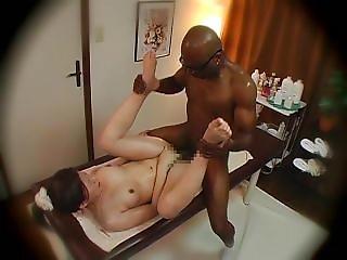 Japanese Interracial Orgasm Creampie
