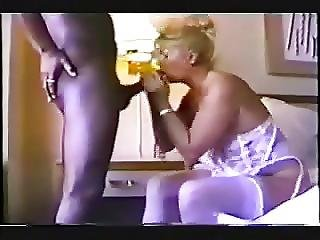 Mature Wife Sucks Dick At A Black Lover Cuckold Video