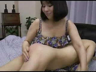 Spanking Lesbians Kiss Me On The Back Of The Ass