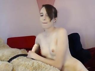 Stunning Teen With Nose Piercings Fucks A Teddy Bear