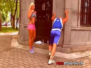 Anál, Velké Dudy, Blonďaté, Koza, Fitness, Francouzské