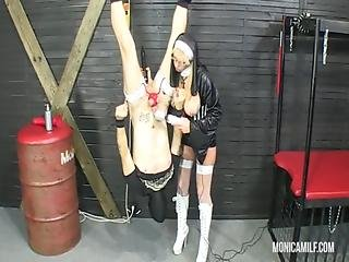 Anal, Dirty, Domination, Femdom, Milf, Mistress, Nun, Strapon