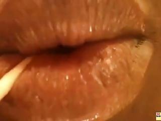 Amatoriale, Fetish, Rossetto, Amante, Webcam