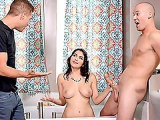 Smokin Hot Housemaid Valentina Nappi Gets Double Penetrated
