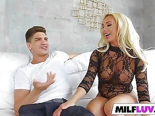 Stunning Blonde Milf Gets Dicked