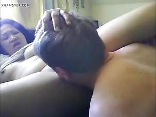 Filipina Getting Her Cunt Eaten