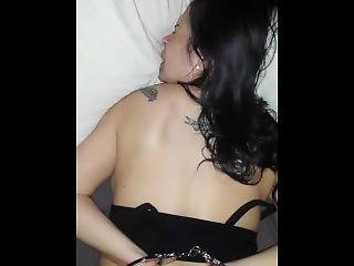 Mexican Milf From Chicago Taking Back Shots Handcuffed
