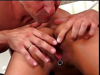 Pierced Hot Babe Having Wild Sex