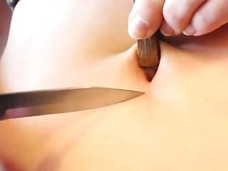 Bellybutton T-shape Torture 1 -knife