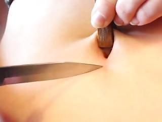 Bellybutton T-shape Torture 1 -knife