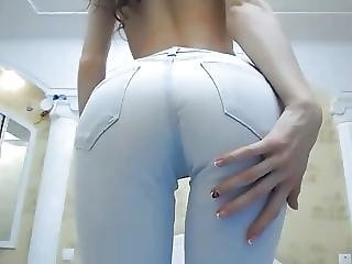 Skinny Teen Ass In Jeans